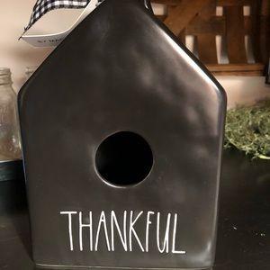 Rae Dunn Thankful Birdhouse